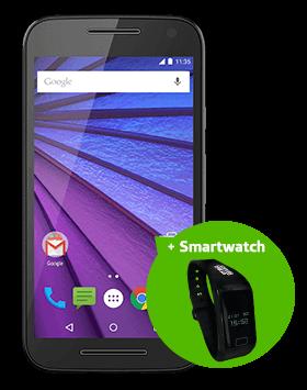 Motorola Moto G 1542 + SmartWatch