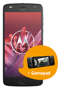 Comparar Motorola Moto Z2 Play + gamepad
