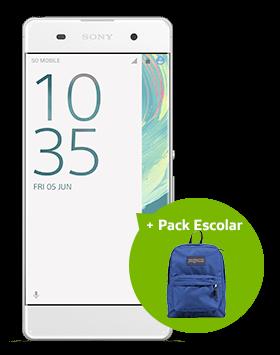 Sony XA F313 + Pack escolar